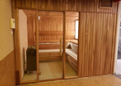 Fitness Club Sauna Thermowood Aspen