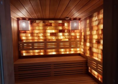 Sauna Thermoholz Espe und weißer Espe
