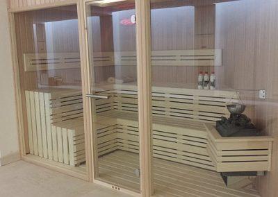 Sauna für den privaten Gebrauch