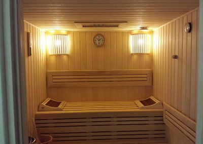 Paneled Marupa Private Sauna